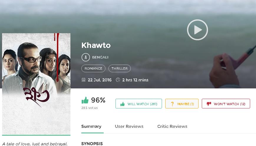 Correspondence 2016 Full Movie Download: Khawto 2016 Full Bengali HD Full Movie Online
