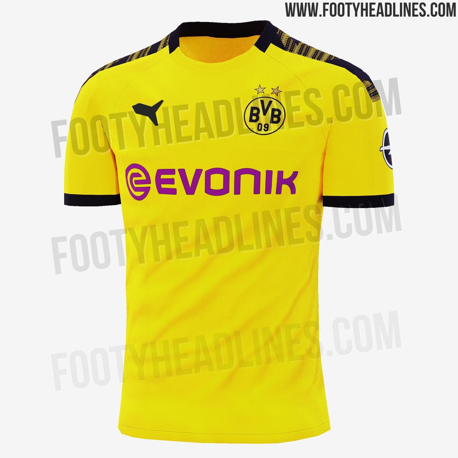 d767eeeb1 The BVB 2019-20 home jersey is set for a release one week earlier as BVB s  last home match of the season is already on May 11 against Fortuna  Düsseldorf.