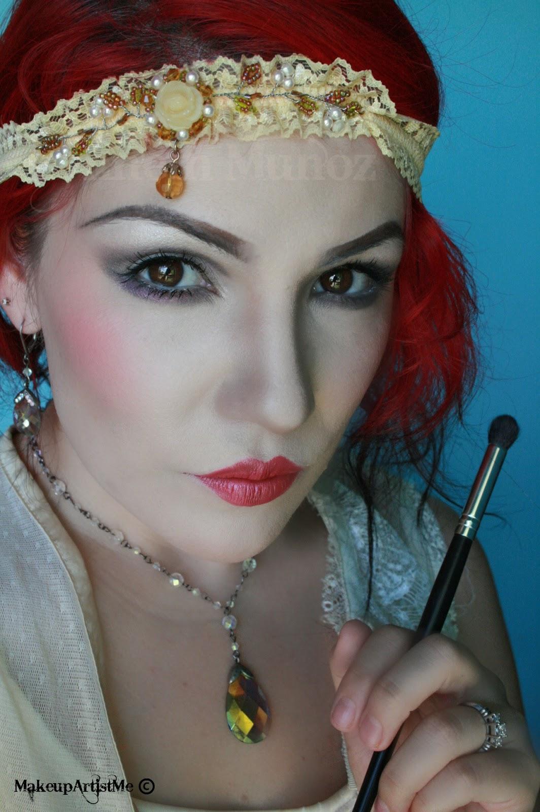 Makeup Artist Youtube: Make-up Artist Me!: 1920s Makeup