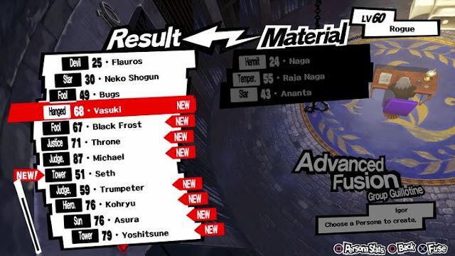 Tips Memaksimalkan Fusion di Persona 5 - langkahgame