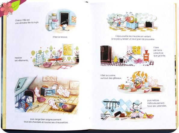 Chaton Pâle et les Insupportables Petits Messieurs de Gaëlle Duhazé - éditions HongFei
