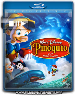 Pinóquio Torrent - BluRay Rip 1080p Dual Áudio