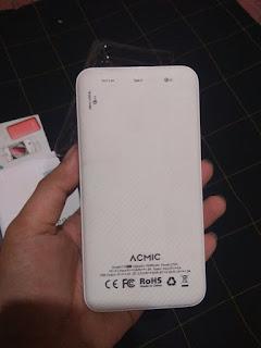 6 Membandingkan Powerbank Acmic C10 Pro Dengan Xiaomi Mi Powerbank 2 10000 mAh