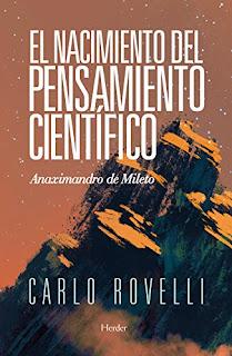 El nacimiento del pensamiento científico- Carlo Rovelli