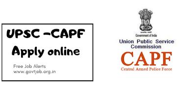 UPSC CAPF