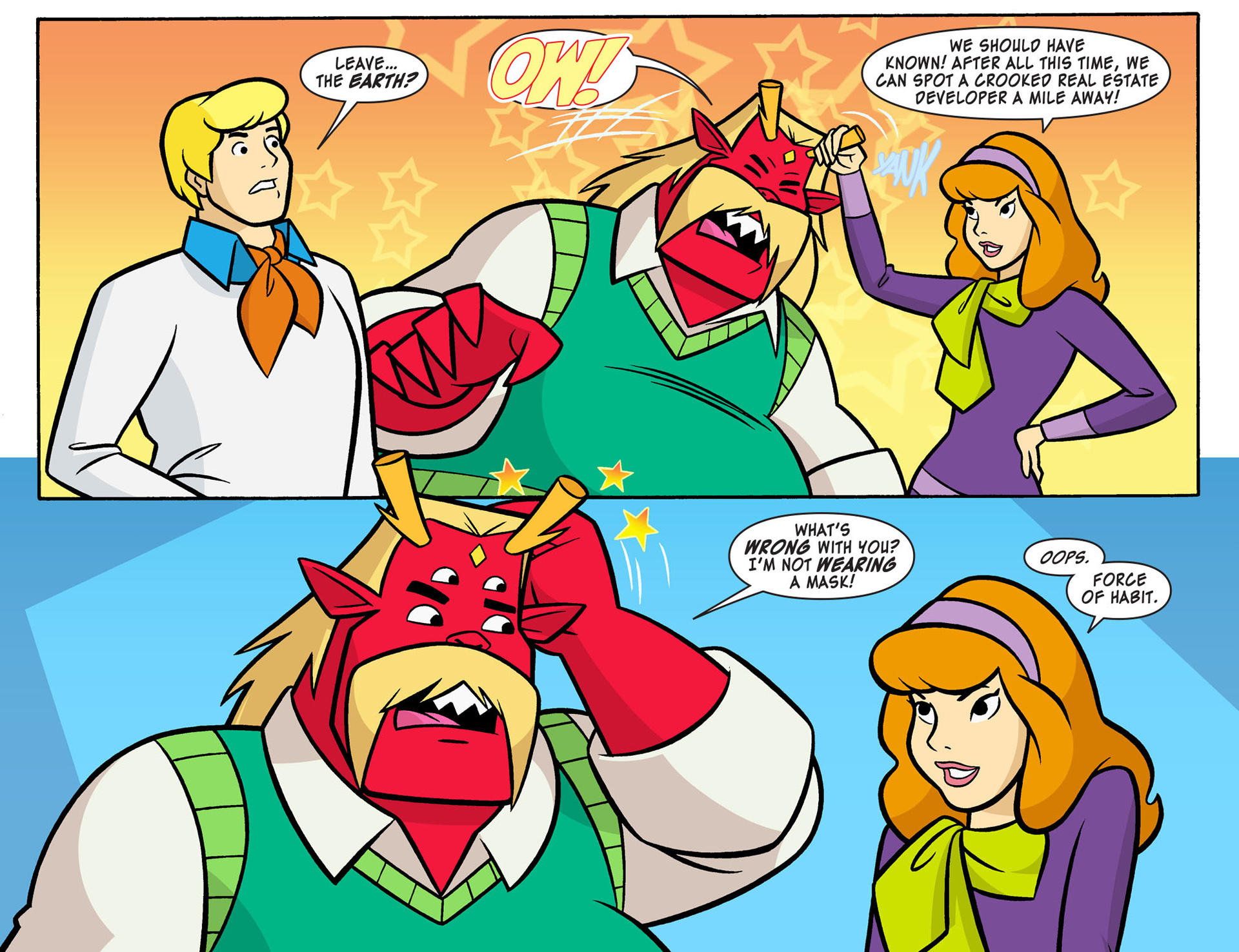 Read online Scooby-Doo! Team-Up comic -  Issue #8 - 20