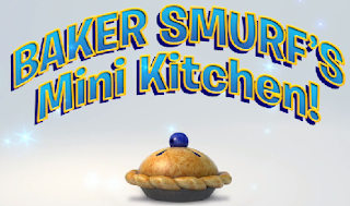 baker smurf mini kitchen