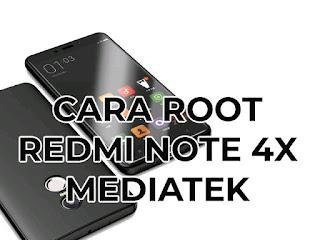 install twrp dan root redmi note 4x mediatek