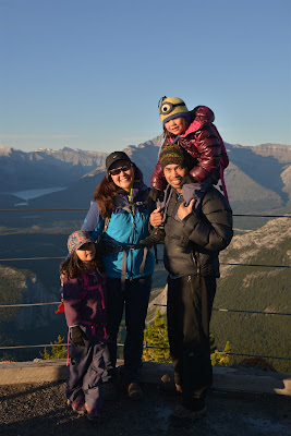 top of the Banff Gondola