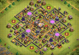 Town Hall 10 Farming Base