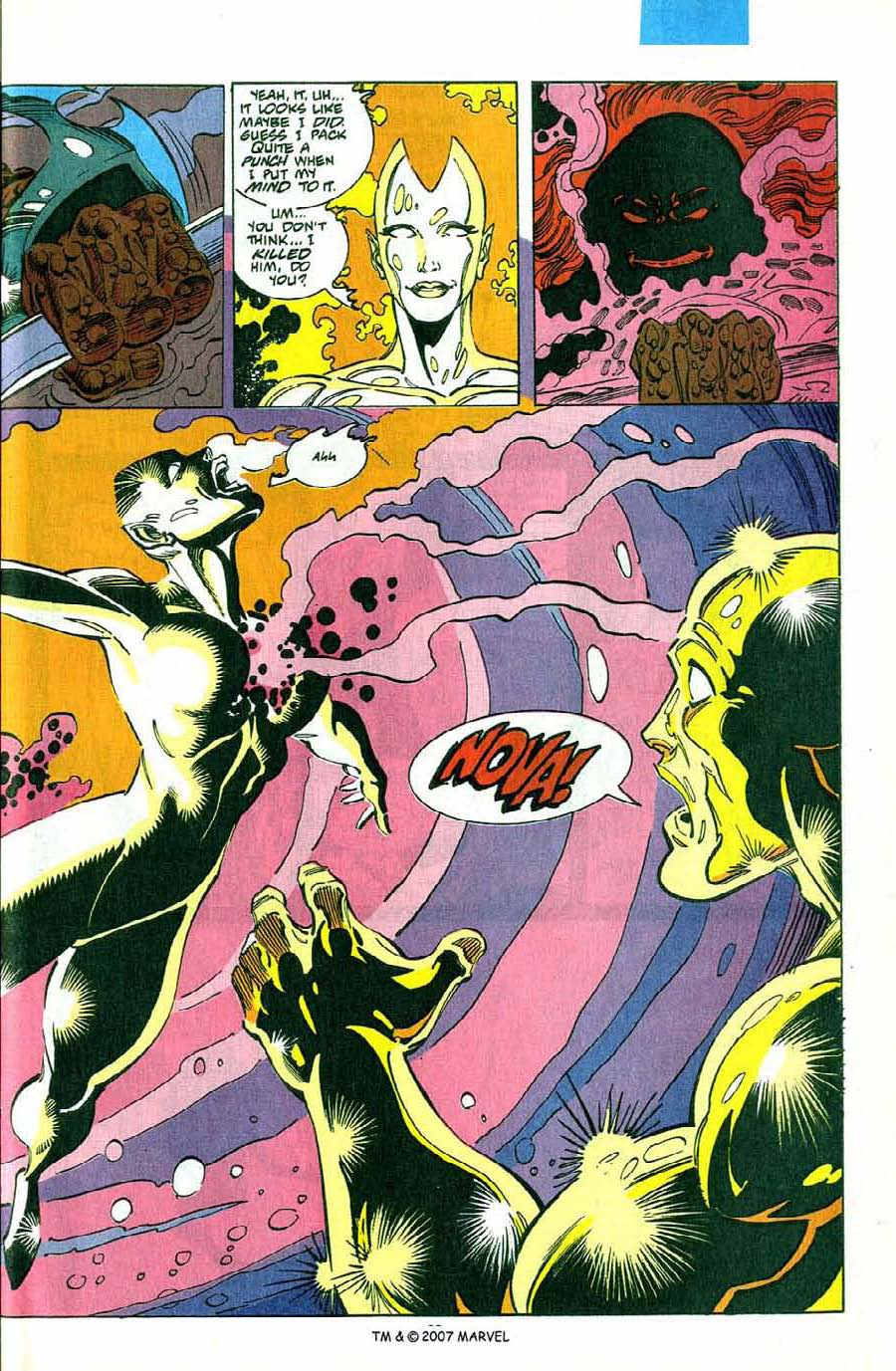 Read online Silver Surfer (1987) comic -  Issue #75 - 35