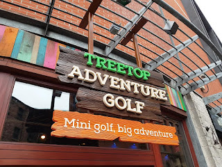 Treetop Adventure Golf at The Printworks on Dantzic Street