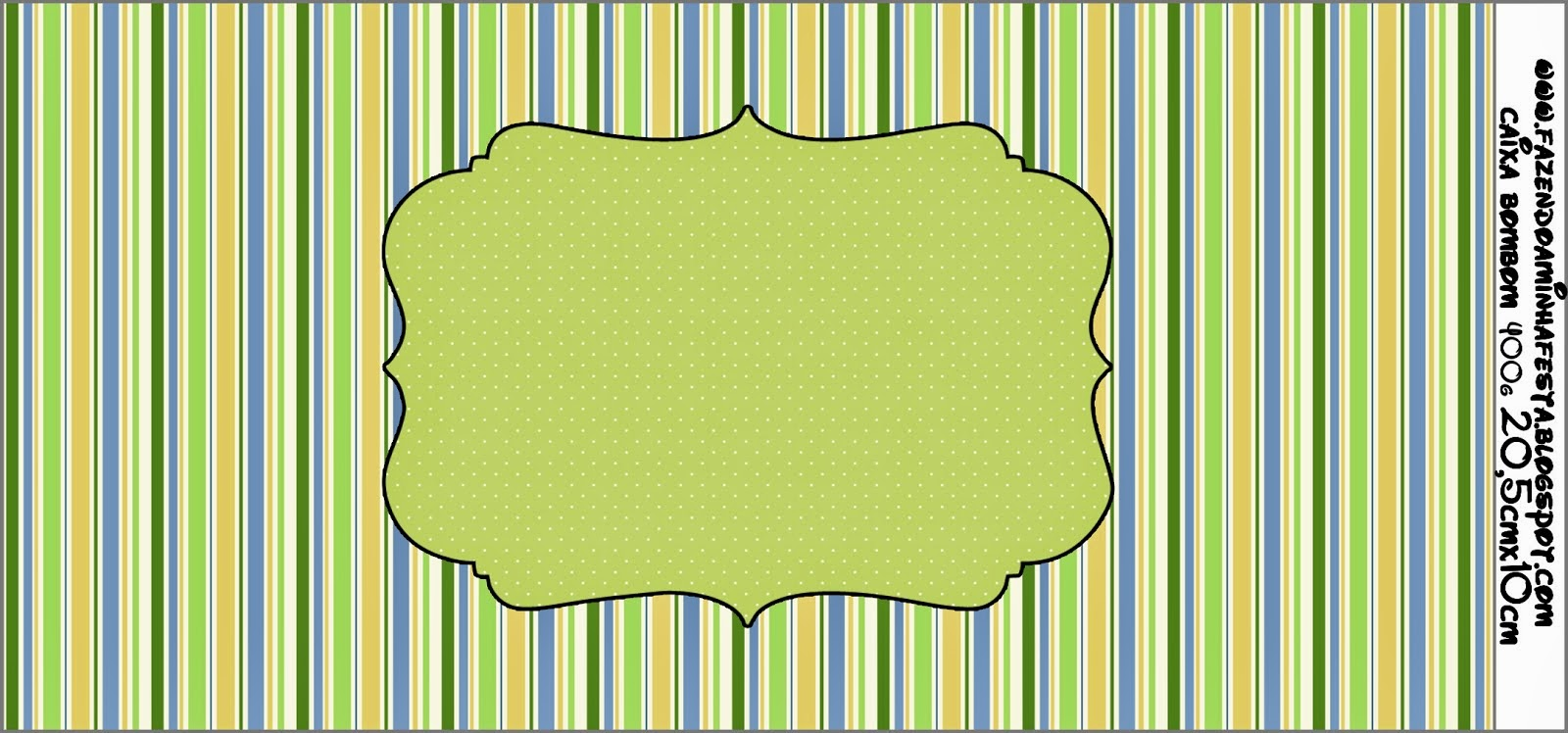 Green, Blue and Orange, Toppers or Free Printable Candy Bar Labels.