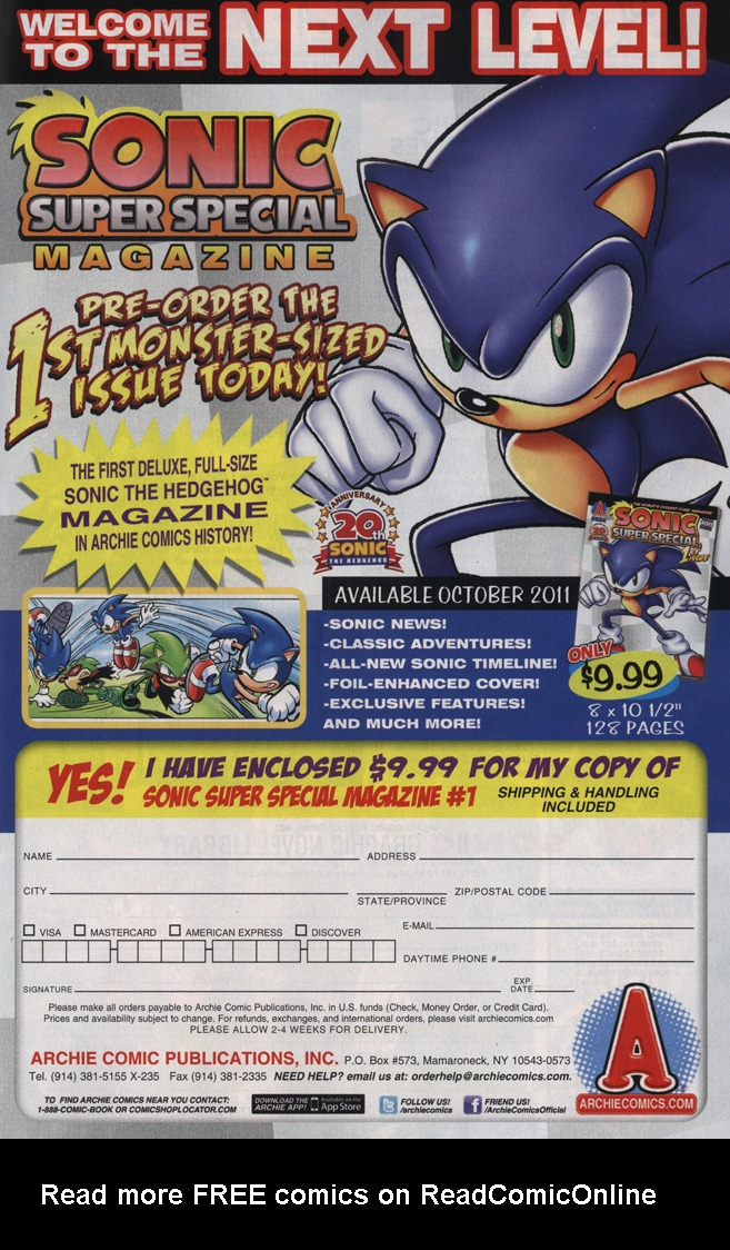 Read online Sonic The Hedgehog comic -  Issue #229 - 7
