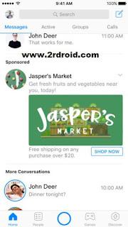 اعلانات فيس بوك ماسنجر , تطبيق فيس بوك ماسنجر , مميزات فيس بوك ماسنجر , ميزة جديدة فيس بوك ماسنجر