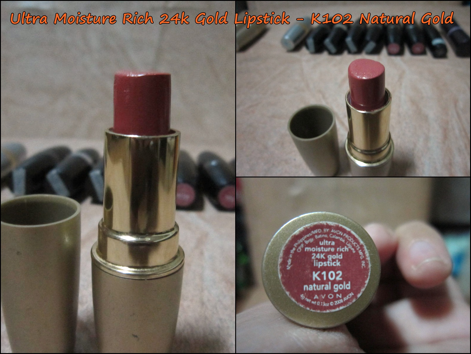 The Unemployed Fish: REVIEW: AVON LIPSTICKS (Assorted)
