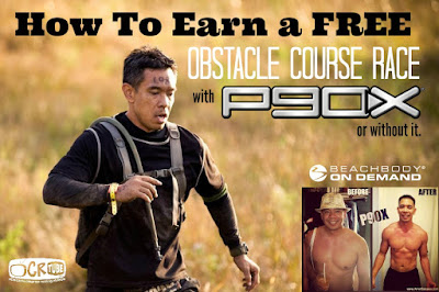 How To Earn a Free Obstacle Course Race, Earn a Free Spartan Race, Obstacle Race Training with Beachbody, P90X and Obstacle Racing, Earn a Free Tough Mudder, Obstacle Course Racing Referral Program, Spartan Race Beachbody Challenge, Free Obstacle Course Race