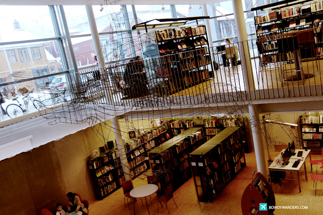 bowdywanders.com Singapore Travel Blog Philippines Photo :: Norway :: Tromsø Library and City Archive: Time To Be A Book Nerd in Norway