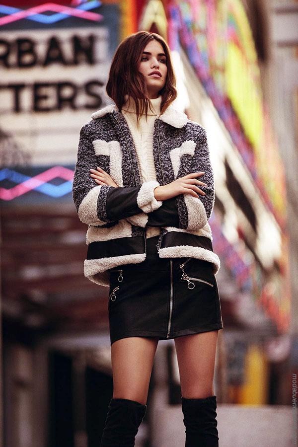 Moda invierno 2018. Ropa de moda mujer argentina. Abrigos otoño invierno 2018.