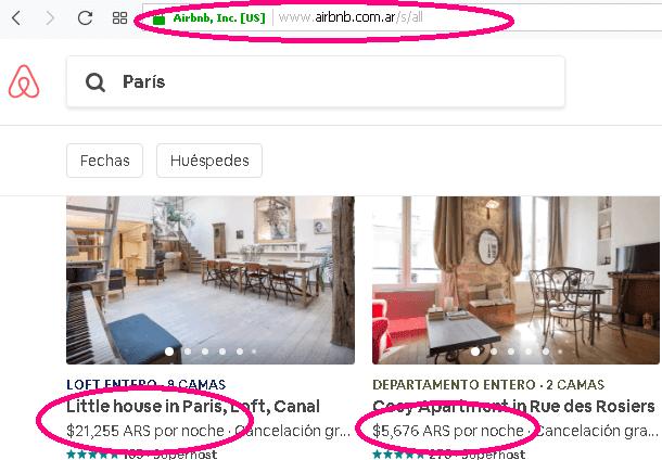 Airbnb cobra en dólares airbnb precios en pesos argentinos airbnb precios en pesos