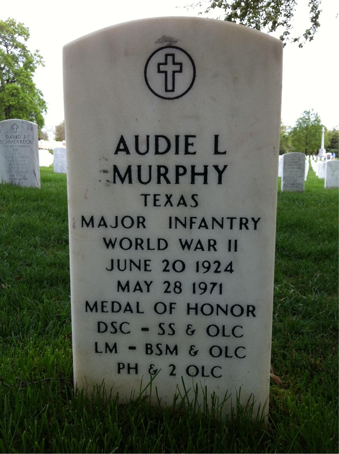Hello Audie Murphy Plane Crash