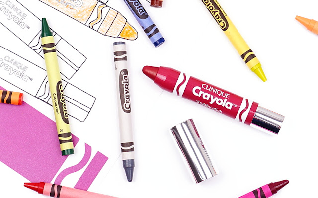 Clinique & Crayola™ Chubby Stick Mauvelous - mel et fel