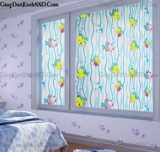 mẫu decal dán kính cửa sổ đẹp
