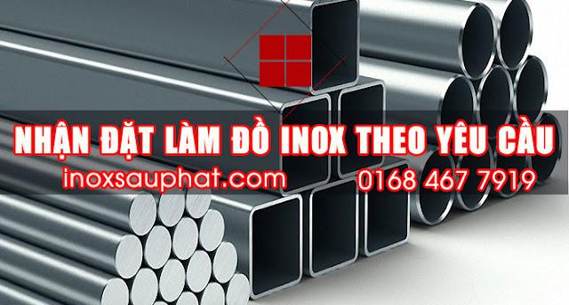 Nhận đặt làm đồ inox các loại ở TPHCM