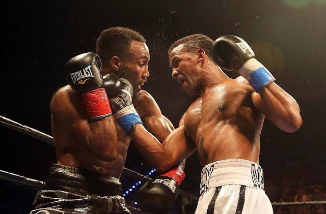 RANCES BARTHELEMY presiona a Mickey Bey rumbo a una victoria en Hollywood, Florida, el 3 de junio del 2016. Pedro Portal pportal@miamiherald.com