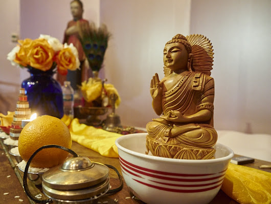 Meeting the Medicine Buddha