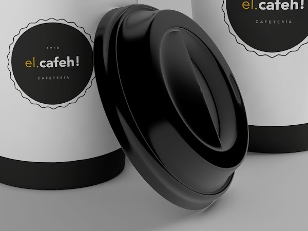 Download El Cafeh Coffee Cup Mockup Free