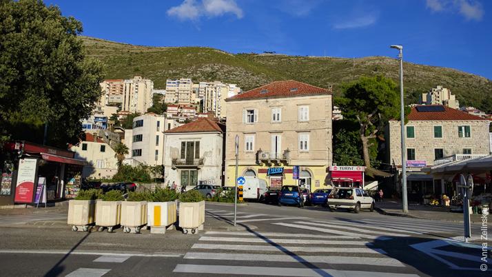 Район около порта, Дубровник