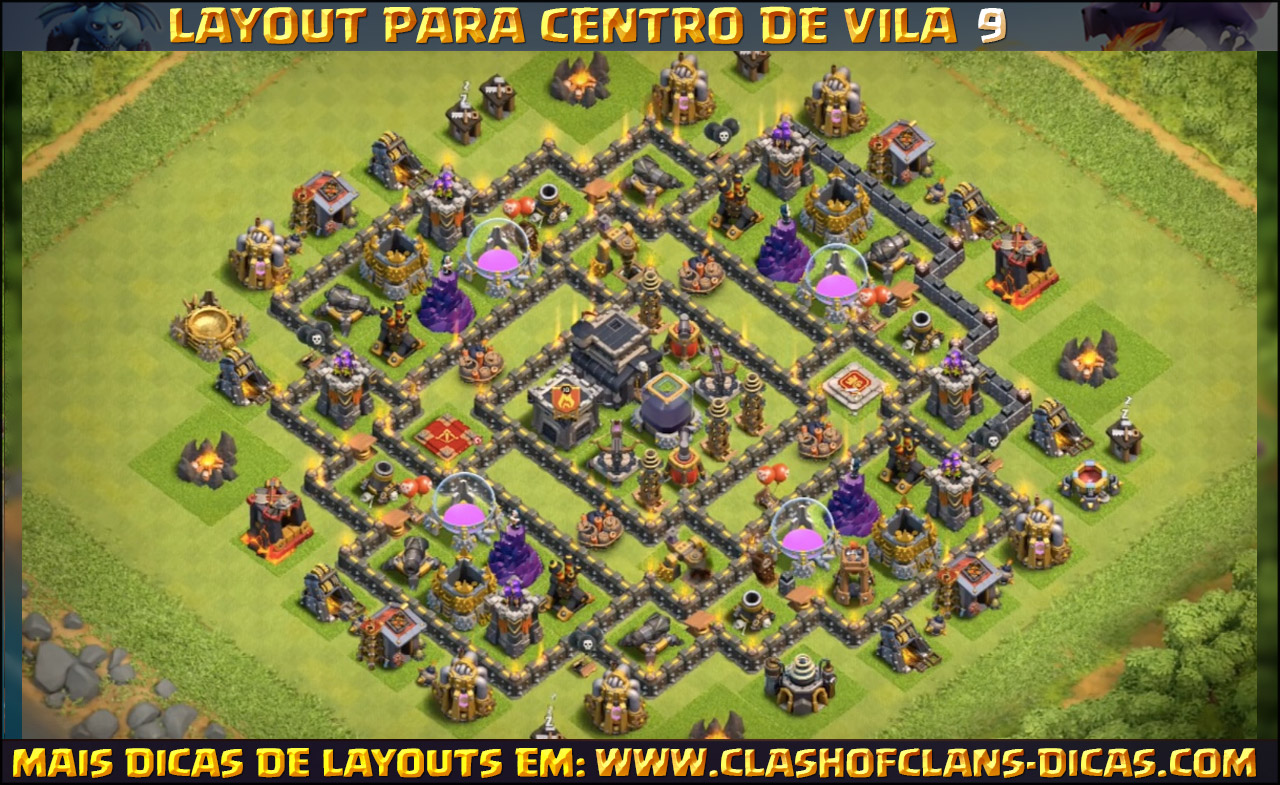 clash of clans maps 10 лучших баз на кв тх9