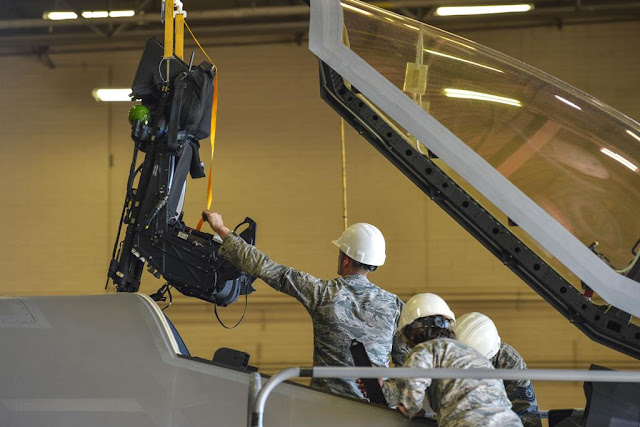 F-35 upgraded seats remove weight limit