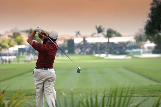 A golfer on the PGA tour