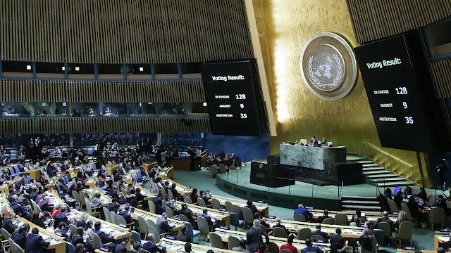 Majelis Umum PBB Batalkan Klaim Yerusalem Ibu Kota Israel