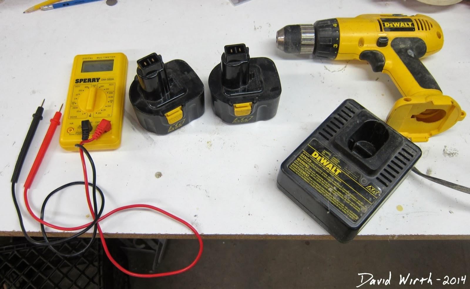 Old Dewalt Batteries