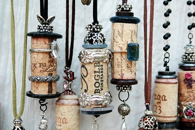 Charm cork ornaments