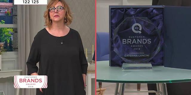 Qvc caterina lancini customer brands awards 2018