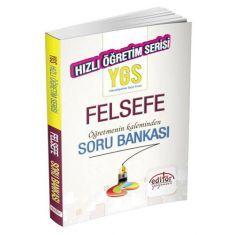 Editör YGS Felsefe Hızlı Öğretim Soru Bankası
