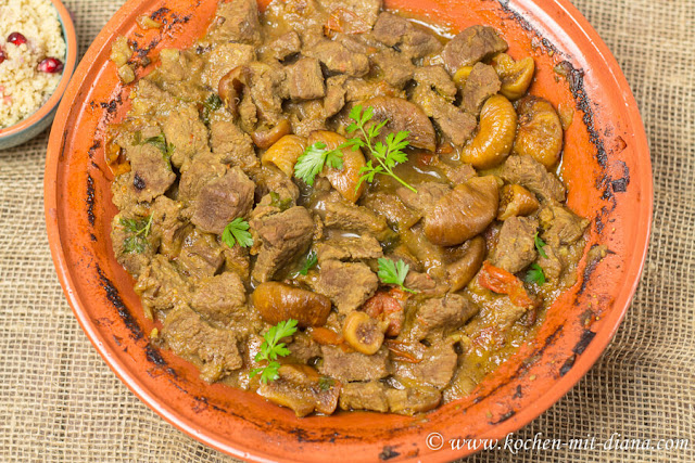 Beef tajine with figs and dates
