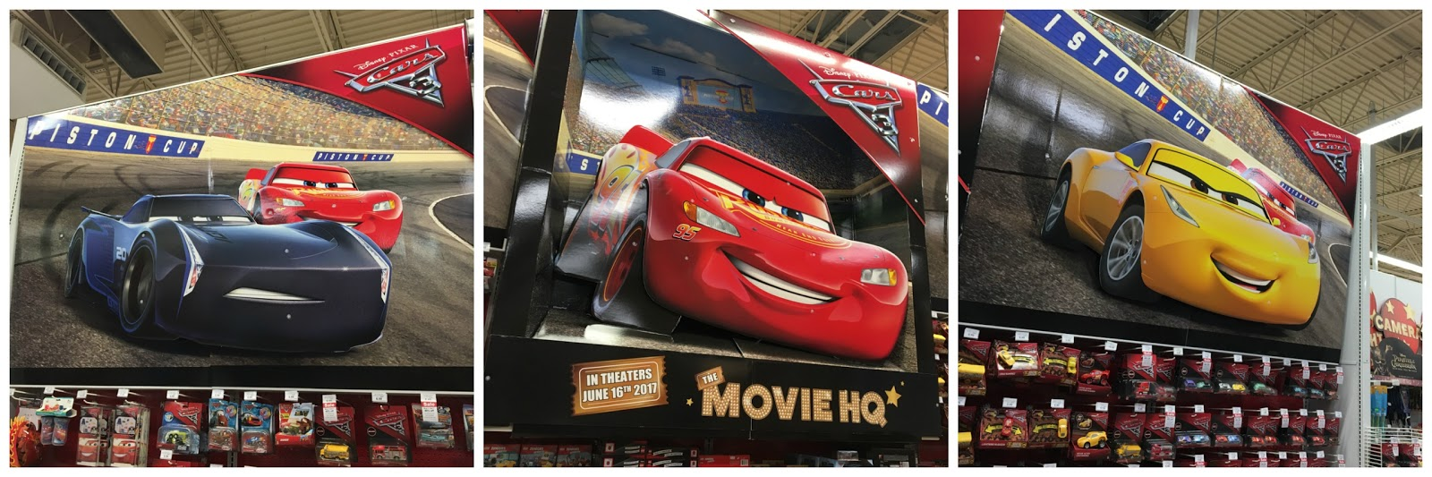 pixar cars 3 toys release 2017