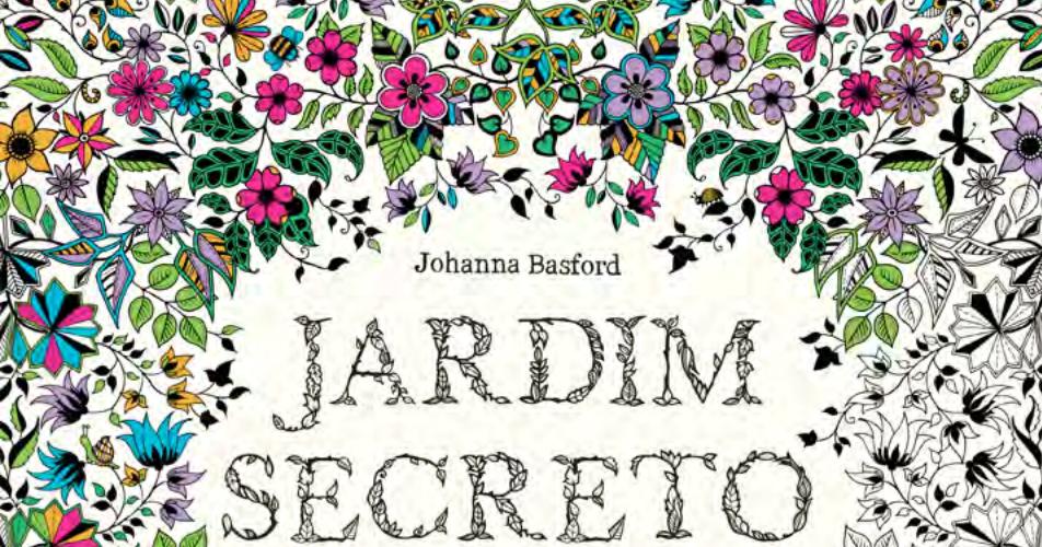 Viagem Literaria Viajando No Mundo Das Cores 1 Jardim Secreto