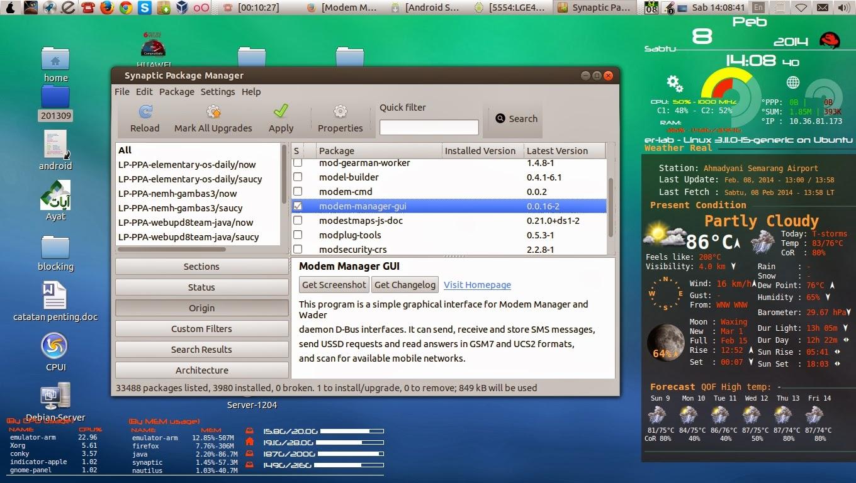 Modem Manager GUI
