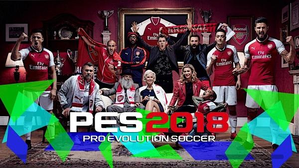PES 2018 The Startscreen Wallpaper
