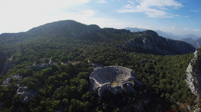 2,300 year old road unearthed in ancient city of Termessos