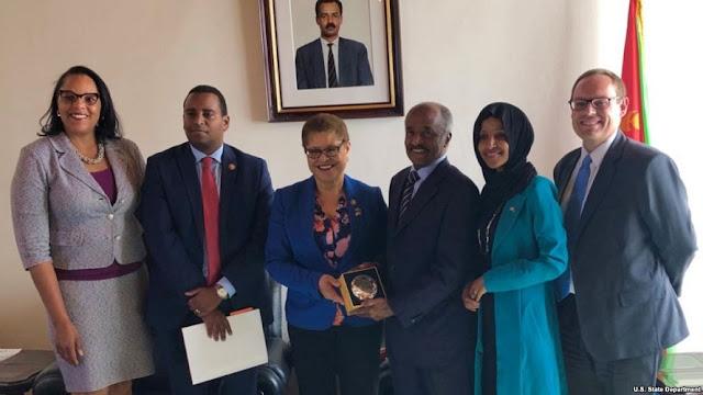 Anggota Kongres AS Imbau Eritrea Bebaskan Warga AS