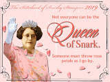 2019 Queen of Snark Badge