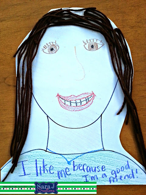 I Like Myself {Another Back to School Book} | Sara J Creations