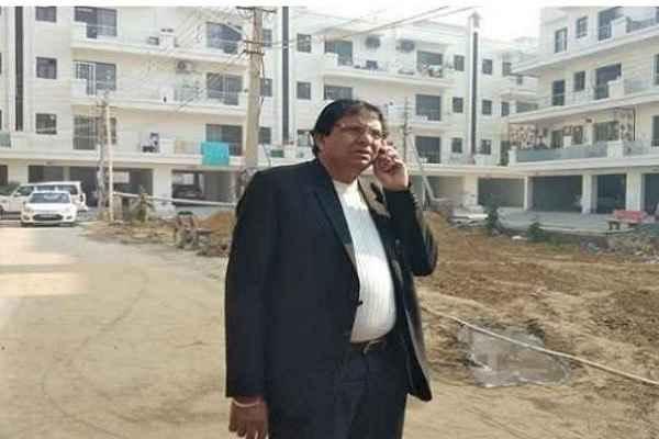 advocate-ln-parashar-accused-mcf-tahsildar-bhu-mafia-registry-scam